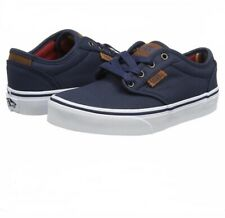 Vans Atwood DX Waxed Dress Blue Shoes Size Youth 4.5