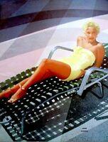Pinup Lithograph Jane Powell 1953 VTG Sterling Smith Original Litho Promo Photo