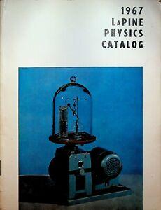 LaPine Physics Catalog 1967 Meters Gyroscopes Hydrostatics Bell Jars