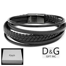 Stainless Steel Braided Fashion Bracelets  b65be8084cc