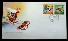 Australia Christmas 2005 Santa Clause Islands Cartoons Festival (stamp Fdc)