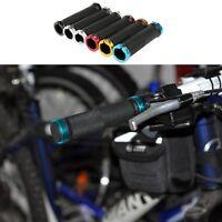 Double Lock On Locking Handle Bar Grips BMX MTB Mountain Bike Cycle Bicycle Grip