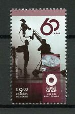 Mexico 2019 MNH Canal Once TV Station 1v Set Media Commucation Stamps