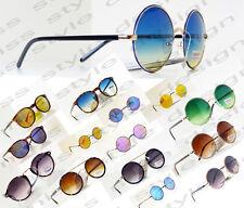 occhiali da sole tondi grandi piccoli specchiati fumè uomo donna SUNGLASSES