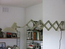 Vintage Mid Century Industrial Bauhaus Scissor Lamp 20th Century Wall Lamp