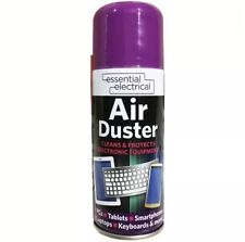 2x Compressed Air Duster Cleaner Can Canned for Laptop Keyboard Mouse 200ml UK