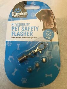PETS Hi Visibility Safety Flasher For Collars