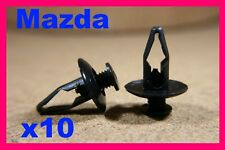 10 MAZDA Interior wheel arch flare trim panel clip screw rivet boot bonnet