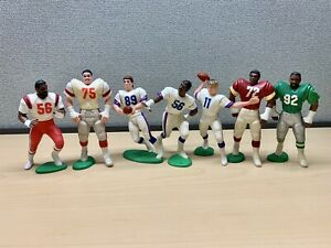 NFL Kenner Starting Lineup Mixed Lot - 7 Loose Figures 1988-189