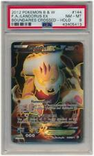 Landorus EX - 144/149 - PSA NM-MT 8 - Full Art UR (B&W: Boundaries Pokemon 3DY