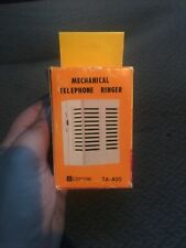 Vintage Mechanical Telephone Ringer New in Box Sceptre Ta-400 Accessory