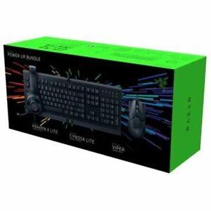Razer Power Up Gaming Bundle w/ Cynosa Lite + Kraken X Lite + Viper Mouse - New