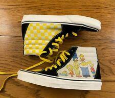 Vans Sk8-Hi The Simpsons Family Portrait Shoes Men's 7.5 / Women's 9 Very Good