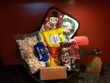 Camping  gift baskets -  S'more Iron skillet kit birthday gift