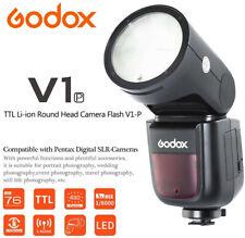 Godox V1 P TTL HSS Rundkopf Blitz Blitzgerät Camera Flash Speedlite für Pentax