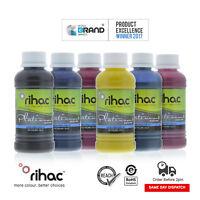 RIHAC Dye Sublimation Ink for Epson Printer CISS Refill Heat Transfer 100ml