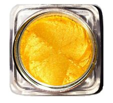 TWICE YOUR HONEY Yellow Natural Loose Mineral Eye Pigment Shimmer Shadow Ultimo!