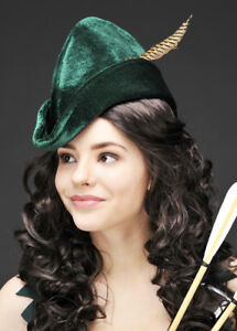 Adult Dark Green Robin Hood Hat
