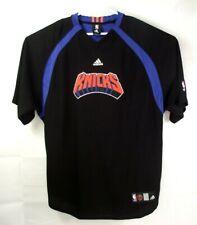 NBA Authentics Adidas Mens NY Knicks Shirt Knickerbockers Size XL Tall Black