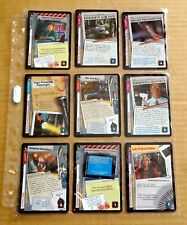 THE X-FILES PREMIERE EDITION CCG/TCG SLEEVE OF 9 x UNCOMMON CARDS  NEW/1996  (F)