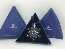 Swarovski Christmas Ornament Star Snowflake 2004 Rockefeller Center w/ Box