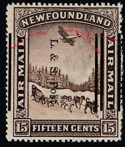Newfoundland # 211ii&iii Shifted Overprint variety M NH VF Perf 14.1