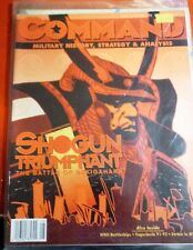 COMMAND MAGAZINE with GAME Issue 23 SHOGUN TRIUMPHANT SEKIGAHARA-New/UNPUNCHED