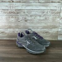 Abeo Aero Reva Womens Size 8 Gray Walking Athletic Toning Running Shoes