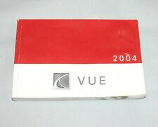 2004 Saturn VUE Factory Original Owners Manual #17
