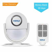 Wireless Home Security Alarm,PIR Motion Sensor Alarm Entry Doorbell with Remote