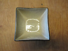"""Joseph Abboud VENTANA Dark Light Brown Square Cereal Bowl 5 3/4""""    5 available"""
