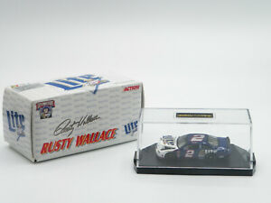 Action 1998 Rusty Wallace FORD TAURUS Miller Lite 1/64 Limited Edition FREE SHIP