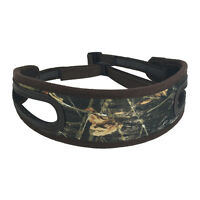 Tourbon Rifle Sling Padded Gun Camo Hunting Non-slip 2 Rest Hole Adjustable Shot