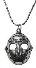 Friday the 13th Jason's Mask Stainless Steel Pendant Necklace