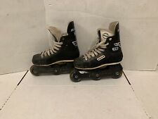 Bauer Impact 30 Inline Roller Hockey Skates Size US Men 4D Ladies 6 Eur 36 Czech