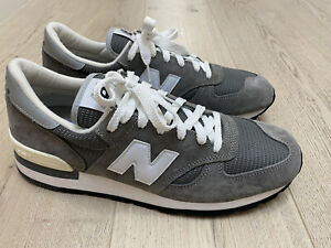 New Balance 990v1 Made In USA Grey White Size US 12 M990GRY