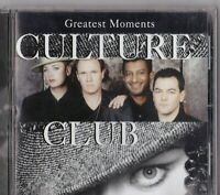 CD -CULTURE CLUB - GREATEST MOMENTS #S64#