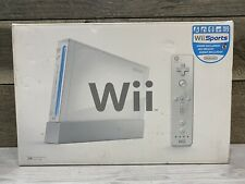 White Nintendo Wii (RVL-001) CONSOLE ONLY GameCube Compatible - Tested