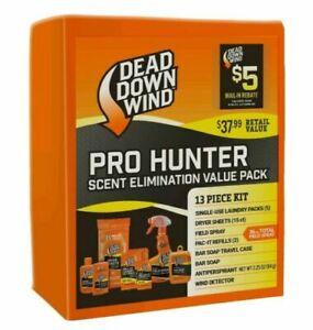 Dead Down Wind Pro Hunter Scent Elimination Odor Control Value Pack 207118 Deer