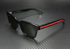GUCCI GG0001S 002 Rectangular Square Black Green 52 mm Men's Sunglasses
