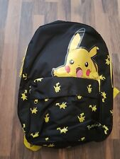 Pokemon Pikachu large lightening backpack