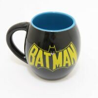 DC Comics Batman Round 18oz. Ceramic Coffee Mug Cup Batman Symbol