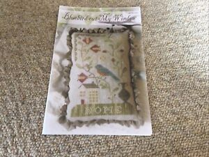 Bluebird Out My Window Cross Stitch Chart By Brenda Gervais