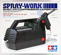 Tamiya 74520 Spray-Work Basic Air Compressor w/Airbrush
