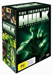 The Incredible Hulk Complete Series DVD - Bill Bixby - New & Sealed