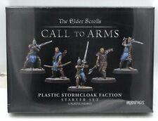 Elder Scrolls MUH052031 Stormcloak Faction Starter Set (Plastic) Skyrim Warriors