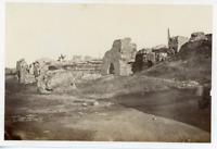 Tunisie, Ruines  Vintage albumen print.  Tirage albuminé  12x16  Circa 188