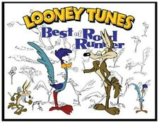 "ROADRUNNER FRIDGE MAGNET LOGO 3. 4"" X 5"". LOONEY TUNES, COYOTE.....FREE SHIPPING"