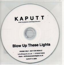 (AP387) Kaputt, Blow Up These Lights - DJ CD