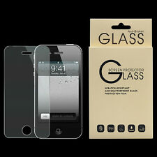 New Anti-Broken Tempered Glass Screen Protector Front Film Cover For iPhone 4 4S